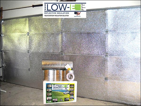 Single car foil ssr garage door kit low e ssr products for Single garage kit