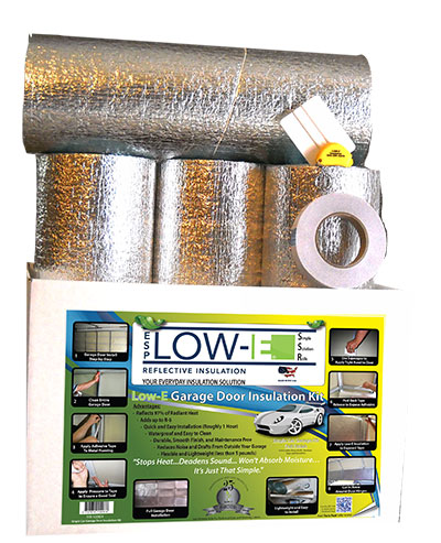 One Car Foil Insulation Kit