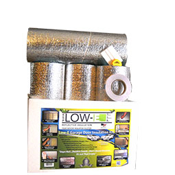 Two Car Foil Garage Door Insulation Kit